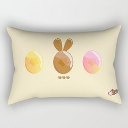 Chocolate Bunny and Candy Rectangular Pillow