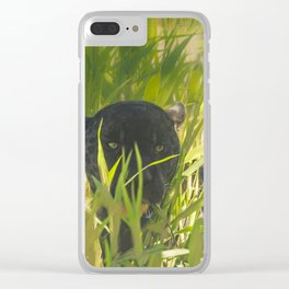 Chilling out Clear iPhone Case