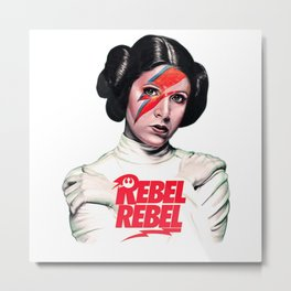 Princess Rebel Metal Print