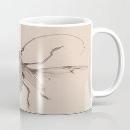 Flying Beetle Coffee Mug