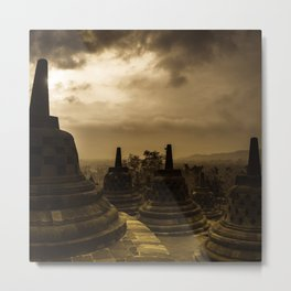 Borobudur Temple  Indonesia Metal Print