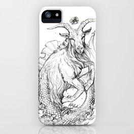 Zodiac: Capricorn iPhone Case