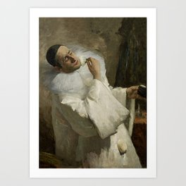 """Pierrot Backstage"" by Floris Arntzenius Art Print"