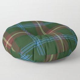 Tartan Of Manitoba Floor Pillow