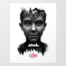 The Upside Down Art Print