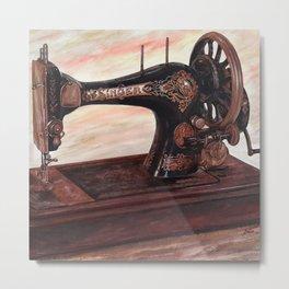 The machine II Metal Print