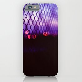 neon lights iPhone Case
