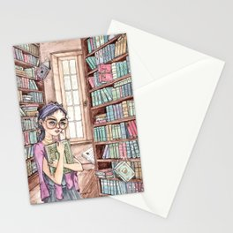 The Librarian Stationery Cards