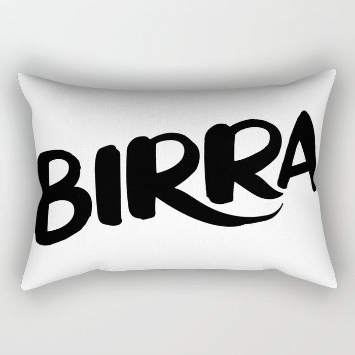 Birra Rectangular Pillow
