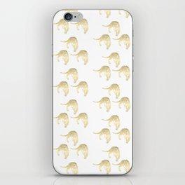 Gold Leopard iPhone Skin