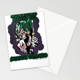 100% Smokin' Cannabis - Support Prop 215 - Smokin' Joker No Leaves Stationery Cards