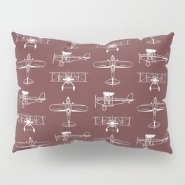 Biplanes // Tosca Red Pillow Sham