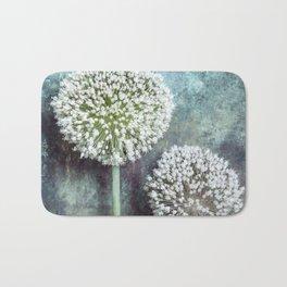 Allium Flowers Bath Mat