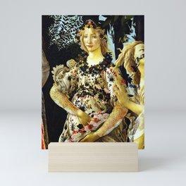 "Sandro Botticelli ""Spring"" Flora (1) Mini Art Print"