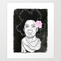 basquiat Art Prints featuring Basquiat by DonCarlos