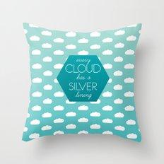 Every Cloud Throw Pillow