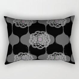 I DREAM OF GENIE - BLACK/GREY/PINK Rectangular Pillow