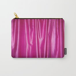 PINK SATIN Carry-All Pouch
