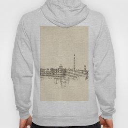 Washington DC Skyline Sheet Music Cityscape Hoody