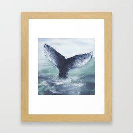 Whale Tale Framed Art Print