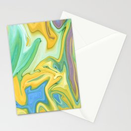Summer Abstract #abstract Stationery Cards
