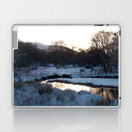 Snow on the hills Laptop & iPad Skin