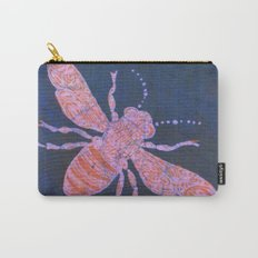 batik Bee Carry-All Pouch