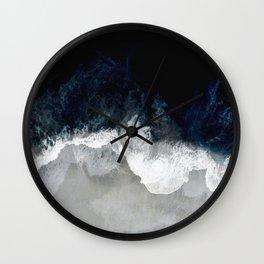 Blue Sea Wall Clock