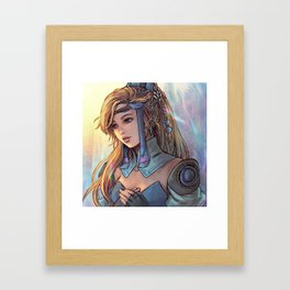 (Another) Sara from Final Fantasy III (1990) Framed Art Print
