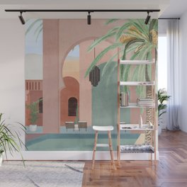 Moroccan Pool Wall Mural