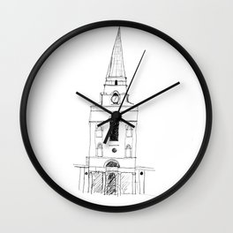 Spitalfields Church, London Wall Clock