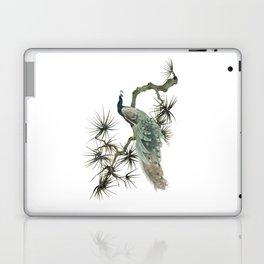 Turquoise Peacock Laptop & iPad Skin