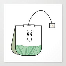 Teabagged Canvas Print