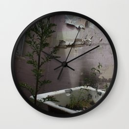 Bath Time... Wall Clock