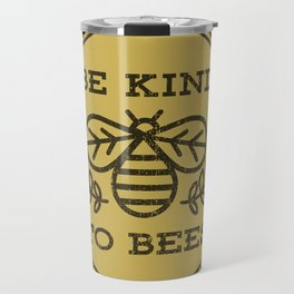 Be Kind To Bees Travel Mug