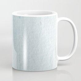 Teal Vertical Blur Abstract Art Coffee Mug