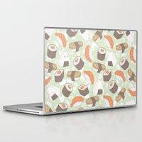 sushi Laptop & iPad Skins featuring Sushi by Kvachi