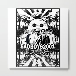 Yung Lean - Sad Boys Metal Print
