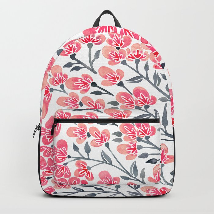 Cherry Blossoms – Pink & Black Palette Backpack