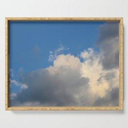 CloudScape Serving Tray