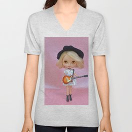 Alternative Girl Unisex V-Neck