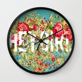 Beaute Girl Wall Clock