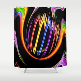 Rainbow Creations 3 Shower Curtain