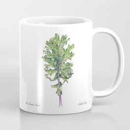 Red Russian Kale Coffee Mug