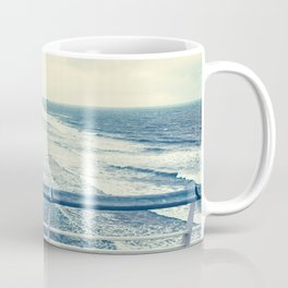 Beach at summer sunset Coffee Mug