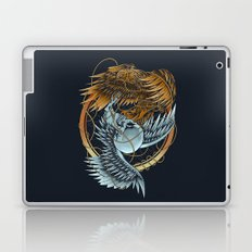 The Raven and the Owl Laptop & iPad Skin