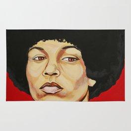 """Angela Davis """"Revolutionary"""" Rug"""