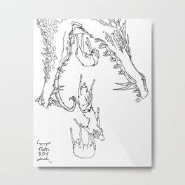 Baa! Metal Print
