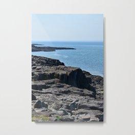 Northern Sea Metal Print