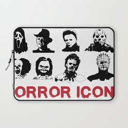 hORROR iCONS Laptop Sleeve